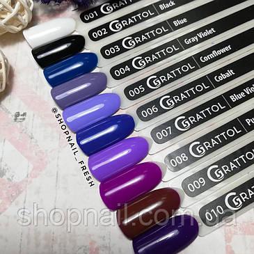 Grattol Gel Polish Blue Violet №007, 9ml, фото 2