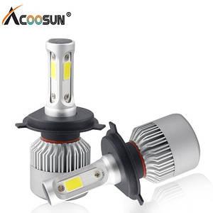 Комплект (2шт) светодиодных автомобильных ламп LED S2 H7
