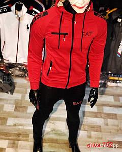 Мужской костюм Armani (весна 2019) с м л хл ххл Цвет : чёрный, красный, белый, жёлтый. Ткань двухнить турецкая