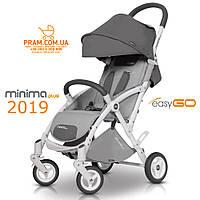 EasyGO MINIMA PLUS 2019 прогулочная коляска Graphite Темно-серый