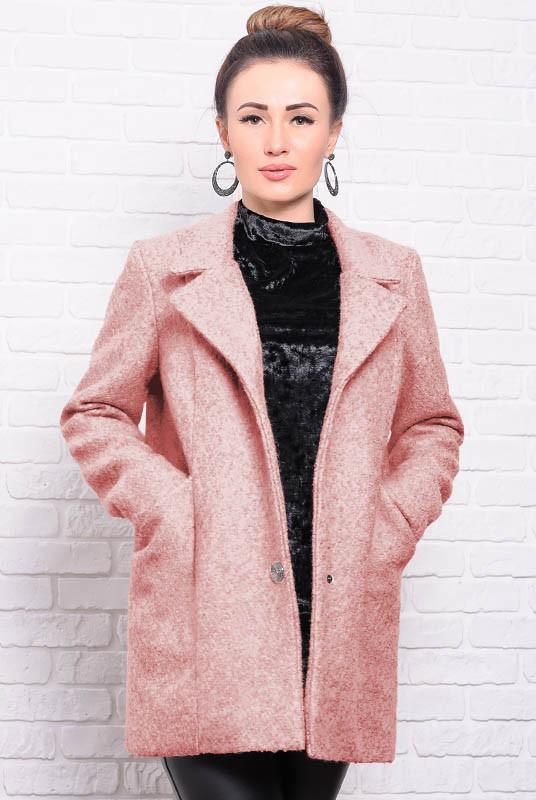 Розовое весеннее пальто Бониэль