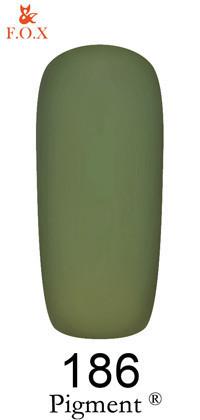 F.O.X. Гель-лак Pigment, 6 мл №186