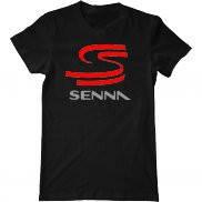 Мужская футболка летняя с принтом Senna