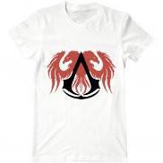 Мужская футболка модная с принтом assassins