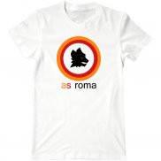 Мужская футболка летняя с принтом as Roma