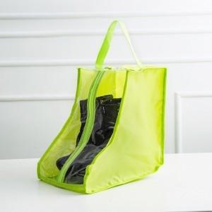 Сумка-чехол для ботинок 01086-02 цвет салатовый