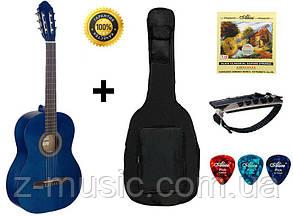 Гитара классическая Stagg С440 BL (комплект)