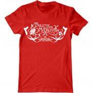 Мужская футболка модная с принтом Bullet For My Valentine