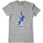 Мужская футболка модная с принтом Stickers Eden Hazard