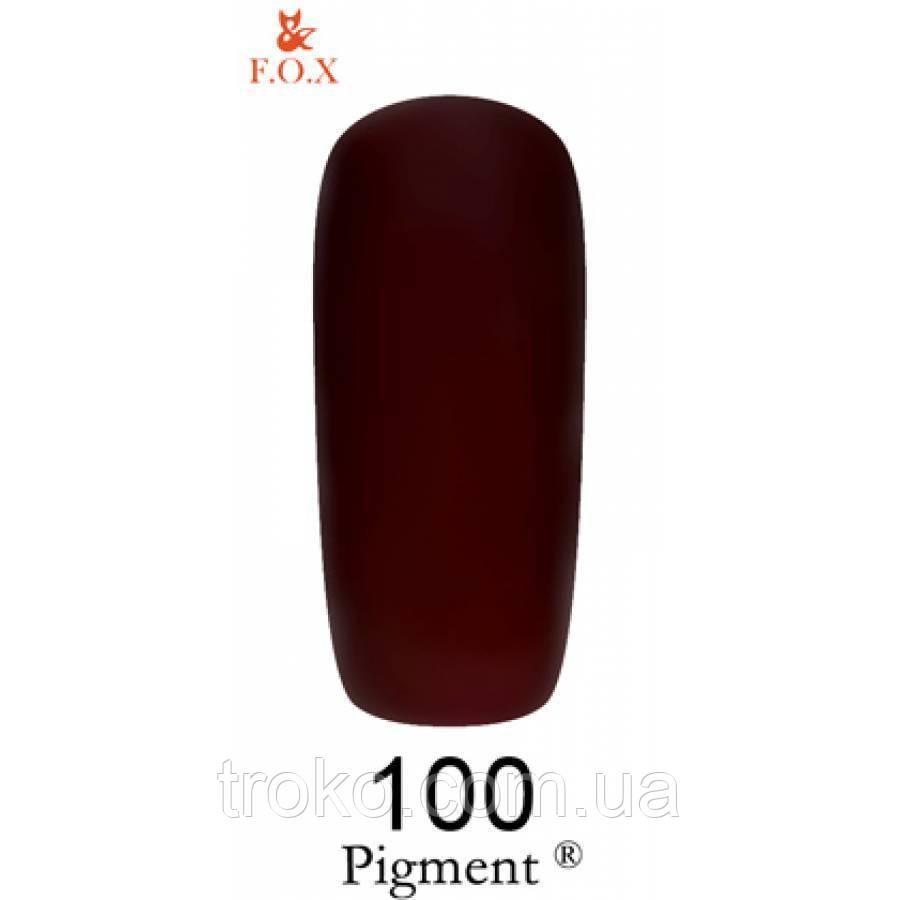F. O. X. Гель-лак Pigment, 6 мл №100