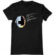 Мужская футболка модная с принтом Random Access Memories