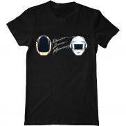 Мужская футболка модная с принтом Random Access Memories: Daft Punk