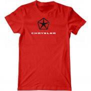 Мужская футболка модная с принтом Крайслер