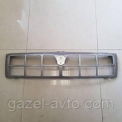 Решетка радиатора Газель старого образца голая метал не крашеная (пр-во ГАЗ)