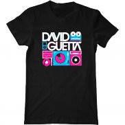 Мужская футболка модная с принтом David Guetta