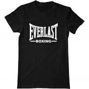 Мужская футболка модная с принтом Everlast Boxing