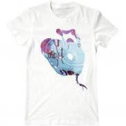 Мужская футболка модная с принтом Puck