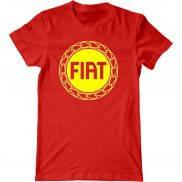 Мужская футболка модная с принтом Фиат