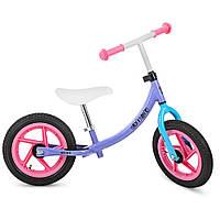 Беговел PROFI KIDS детский 12 д. M 3437A-6 (1шт)колеса резина,пласт.обод,набор наклеек на раму,сирен