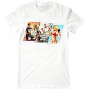 Мужская футболка модная с принтом Grand Theft Auto 5
