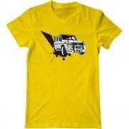 Мужская футболка модная с принтом Mercedes Hamann Gelandewagen