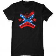 Мужская футболка модная с принтом Harley davidson eagle