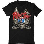 Мужская футболка модная с принтом Rebel Soul