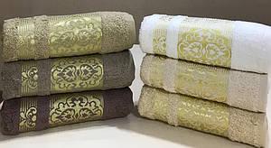 Лицевые махровые полотенца (Турция)