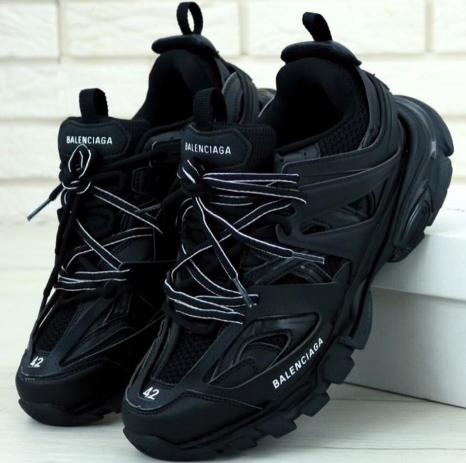 Мужские кроссовки Balenciaga Track Black