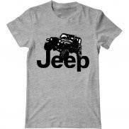 Мужская футболка летняя с принтом Jeep Rubicon