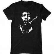 Мужская футболка летняя с принтом Jimi Hendrix