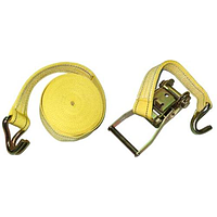 Стяжка груза 5Т. ST-212D-10 YL 50мм х 10м (мех.+трос)
