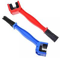 Щетка для чистки приводной цепи (цвета: синий, красный)