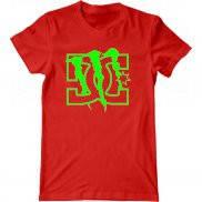 Мужская футболка летняя с принтом DC Shoes and Monster Energy