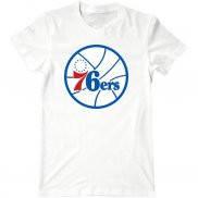 Мужская футболка летняя с принтом Philadelphia 76ers