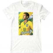 Мужская футболка летняя с принтом Neymar