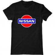 Мужская футболка летняя с принтом Ниссан