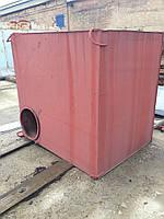 Бак стальной 3,7 м.куб., Труба бесшовная 133х5, колонны, тельфер 5тонн - дешево