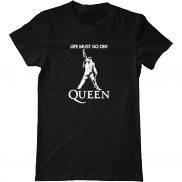 Мужская футболка летняя с принтом Фреди Меркьюри Queen