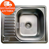 Кухонная мойка стальная Galati Eko Sims Textura 8659 нержавеющая сталь