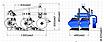 Плуг тракторний двохкорпусний Р12 2х30см Agrix, фото 2