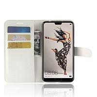 Чехол-книжка Litchie Wallet для HuaweiP20 Pro Белый