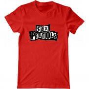 Мужская футболка с принтом Sex Pistols