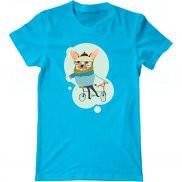 Мужская футболка с принтом swag