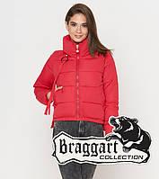 Braggart Youth | Куртка весенне-осенняя женская 25222 красная  р. 52(XL)
