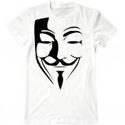Мужская футболка с принтом V значит вендетта