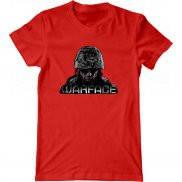 Мужская футболка с принтом warface