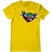 Мужская футболка с принтом Yamaha racing team