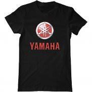 Мужская футболка с принтом Yamaha logo