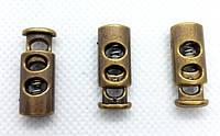 Фиксатор для шнура 3351 антик (500 шт), фото 1
